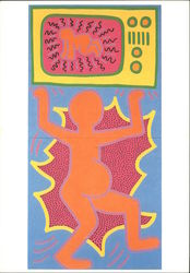 Keith Haring 1984 Untitled