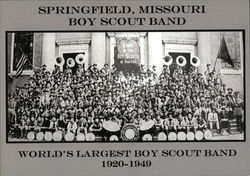 Springfield Missouri Boy Scout Band