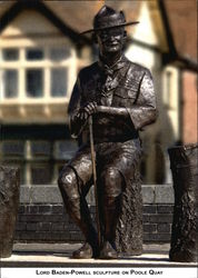 Lord Baden-Powell Sculpture on Poole Quay