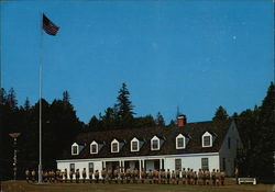 The Scout Barracks, Mackinac Island Scout Service Camp