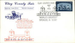Clay County Fair First Day Cover