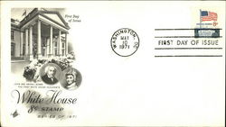 White House 8 Cent Stamp Series of 1971, First Day of Issue First Day Cover