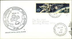 Manned Spacecraft Recovery Force, Atlantic, TF-140 Recovery Control Center First Day Cover