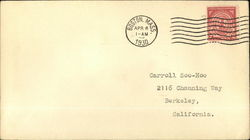 2c Massachusetts Bay Colony Stamp #682 on Cover