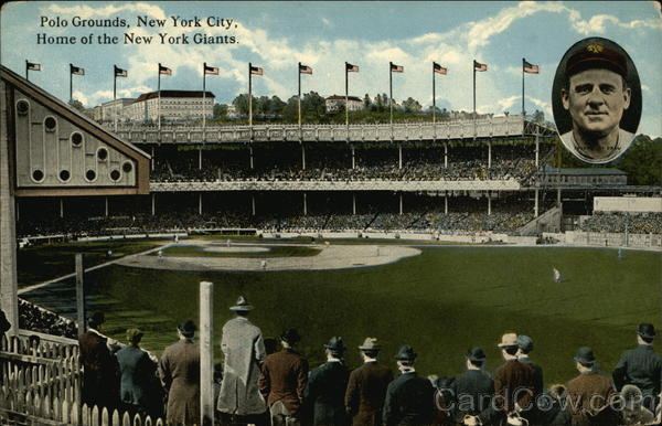 Polo Grounds - John McGraw New York City Baseball