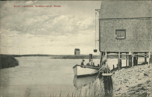 Boat Landing Barnstable Massachusetts