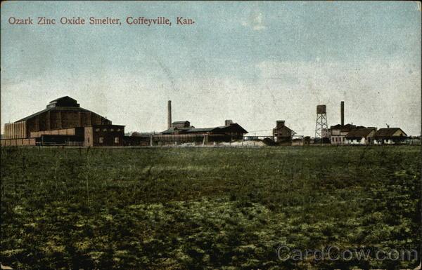 Ozark Zinc Oxide Smelter Coffeyville, KS