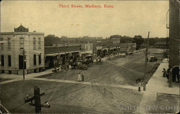 Third Street Madison Kansas