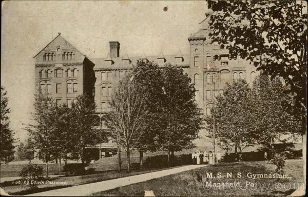 Mansfield (PA) United States  city photos : MSNS Gymnasium Mansfield Pennsylvania