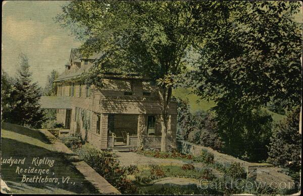 Naulhaka - Former Home of Rudyard Kipling Brattleboro, VT