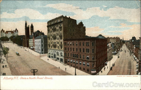 State and North Pearl Streets Albany New York