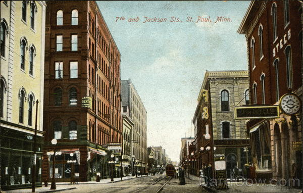 7th and Jackson Sts St. Paul Minnesota