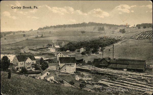 View of Carley Brook Pennsylvania