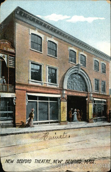 Street View of New Bedford Theatre Massachusetts