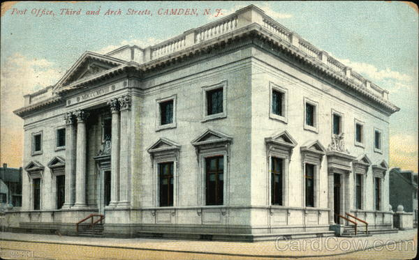 Post Office, Third and Arch Streets Camden New Jersey
