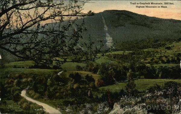 Trail to Greylock Mountain Adams Massachusetts