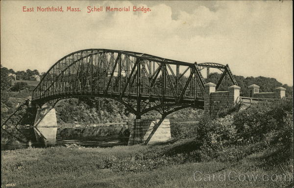 Schell Memorial Bridge East Northfield Massachusetts