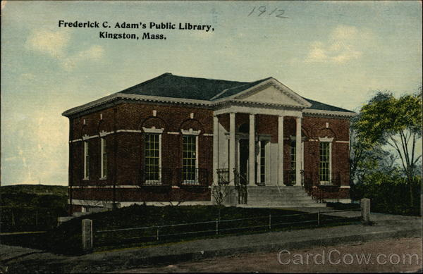 Frederick C. Adam's Public Library Kingston Massachusetts