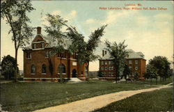 Hedge Laboratory, Roger Williams Hall, Bates College
