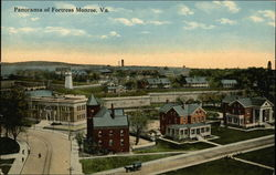 Panorama of Fortress Monroe
