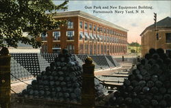 Gun Park and New Equipment Building, Navy Yard