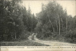 Depot Road to Weltworth Park, Lake Wentworth