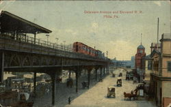 Delaware Avenue and Elevated RR
