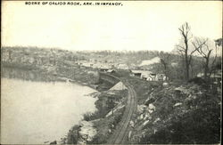 Scene of Calico Rock, Ark. in Infancy