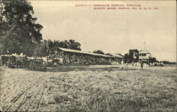 Scenes at Comanche Carnival Grounds, Seventh Annual Carnival Aug. 19, 20, 21, 1909