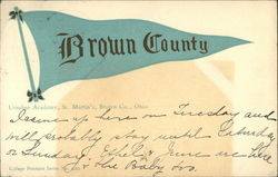 Brown County, Ursuline Academy, St. Martin's, Brown Co., Ohio