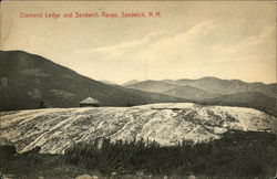 Scenic View of Diamond Ledge and Sandwich Range