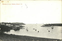 Water View at Mackerel Cove Postcard