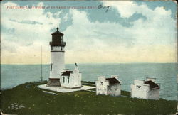 Fort Canby Lighthouse at Entrance to Columbia River