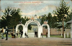 Street View of Chautauqua Entrance