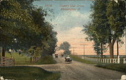 Country Club Drive Postcard