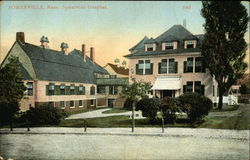 Somerville Hospital and Grounds Postcard