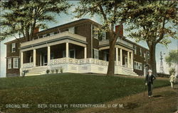 Beta Theta Pi Fraternity House, University of Maine