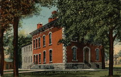 County Jail Postcard