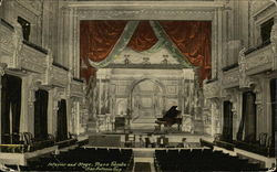 Interior and Stage, Plaza Theatre