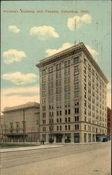 Hartman Building and Theatre Postcard
