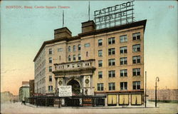 Castle Square Theatre Postcard