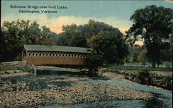 Robinson Bridge Near Golf Links