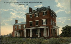 Washington's Headquarters during Revolutionary War