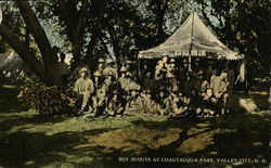 Boy Scouts at Chautauqua Park