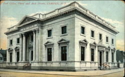Post Office, Third and Arch Streets Postcard