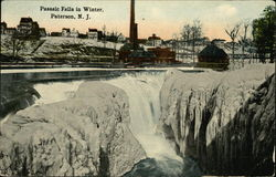 Passaic Falls in Winter