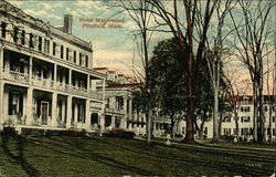 Hotel Maplewood and Grounds Postcard