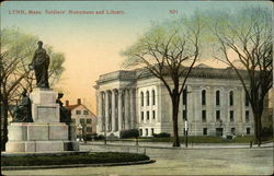 Soldiers Monument and Library