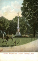Soldiers Monument and Common