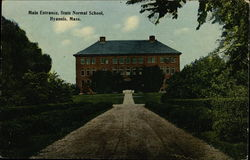 Main Entrance, State Normal School